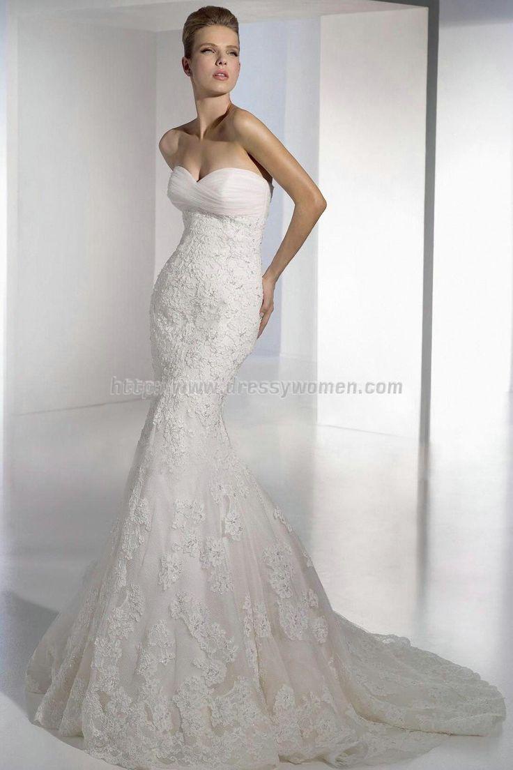 The 13 best Wedding dress images on Pinterest | Wedding frocks ...