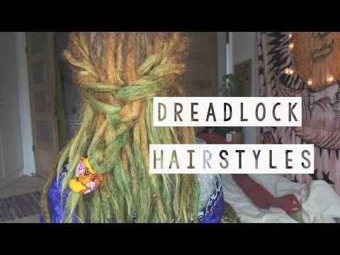 *** 6 DREAD STYLES/ 6 FRYZUR Z DREADÓW LOC LOCKS dredy dready hairstyle updo dreadlock *** - YouTube