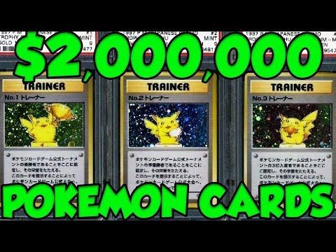 $2,000,000 FOR POKEMON CARDS?! The Top 10 Most Valuable Pokemon Cards EVER!
