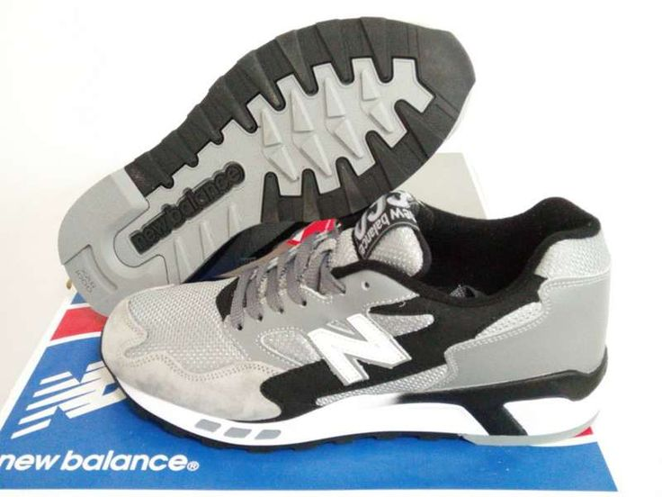 New Balance 660 Men's Gray Black Running Shoes
