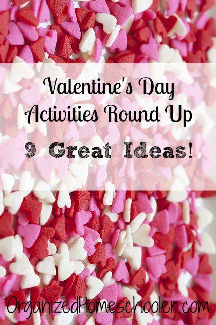 Valentine's Day Round Up - The Organized Homeschooler