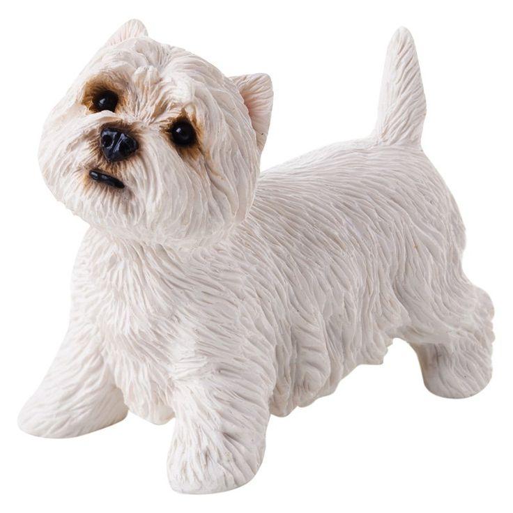 Sandicast Small Size West Highland White Terrier Sculpture. Sculpture GardenGarden  StatuesWest Highland TerrierWhite ...