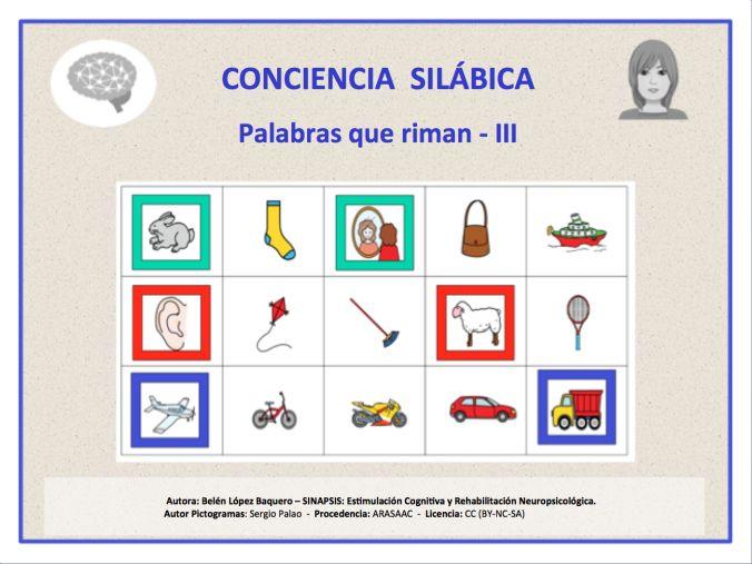 Resultado de imagen de CONCIENCIA SILABICA UN MAR DE PALABRAS