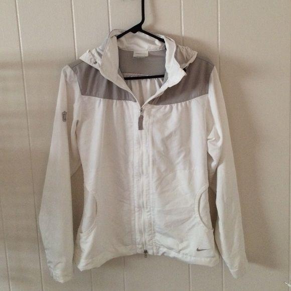 Nike rain jacket Lightweight rain jacket. Barely ever worn Nike Jackets & Coats