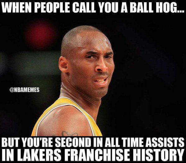 RT @NBAMemes: Kobe Bryant's reaction. - http://nbafunnymeme.com/nba-funny-memes/rt-nbamemes-kobe-bryants-reaction