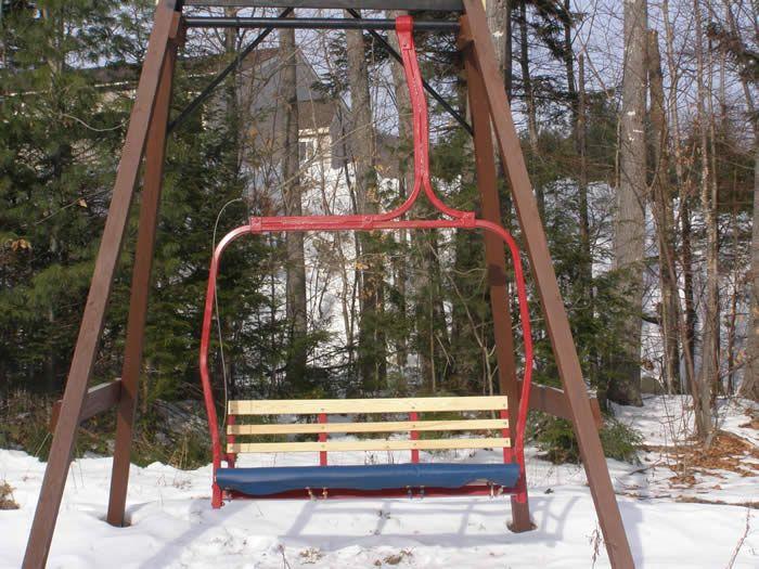 chair lift swing ski stuff pinterest