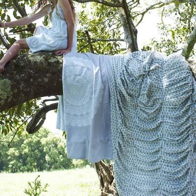 Shannon Fricke Bedlinen Spun Lace Quilt Cover