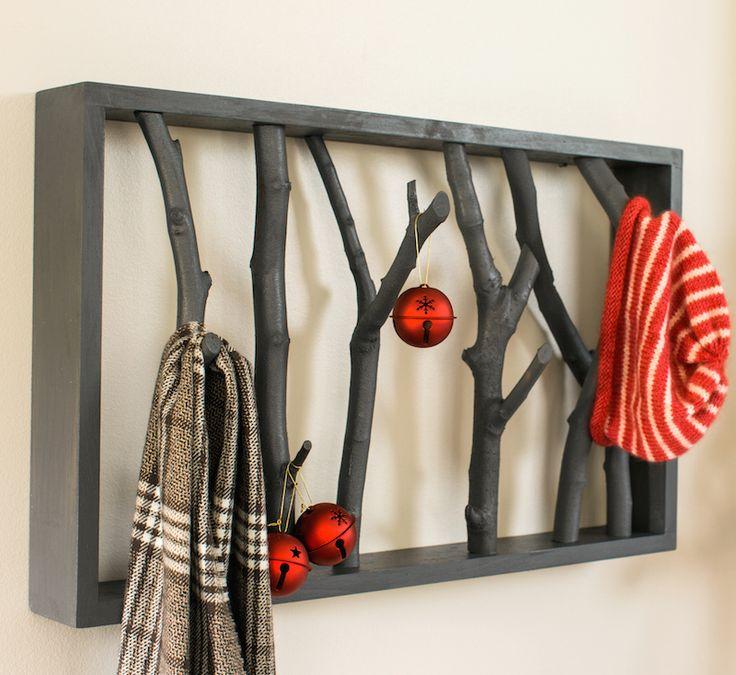 DIY Branch Shelf – The Home Depot Blog