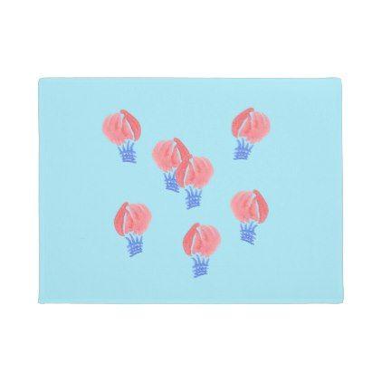 #Air Balloons Door Mat 18'' x 24'' - #doormats #home & #living