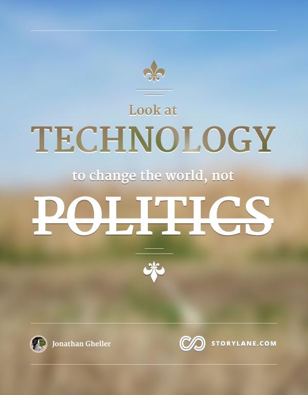 Technology > Politics