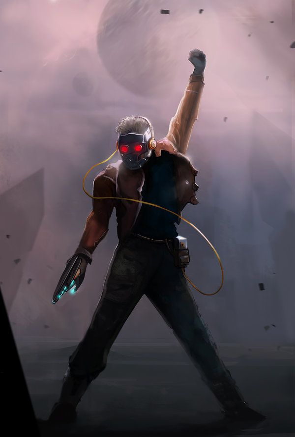 the… Starlord. by Sharobury. Guardians of the galaxy.