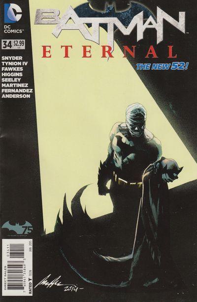 Hot new product added -  Batman Eternal #34 - http://ponderosa.co/things-from-another-world/batman-eternal-34/