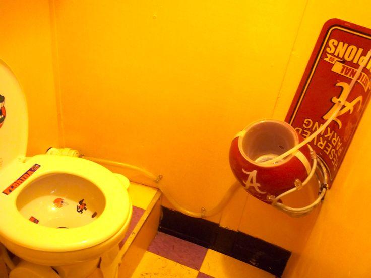 Bathroom In LSU Tailgate Trailer LSU Pinterest