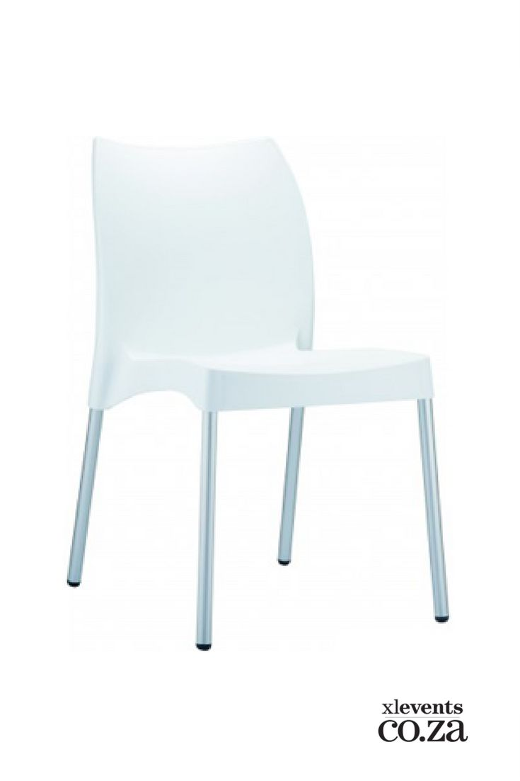 White Plastic Chair available for hire for your wedding, conference, party or event. Browse our selection of chairs and furniture in our online catelogue.