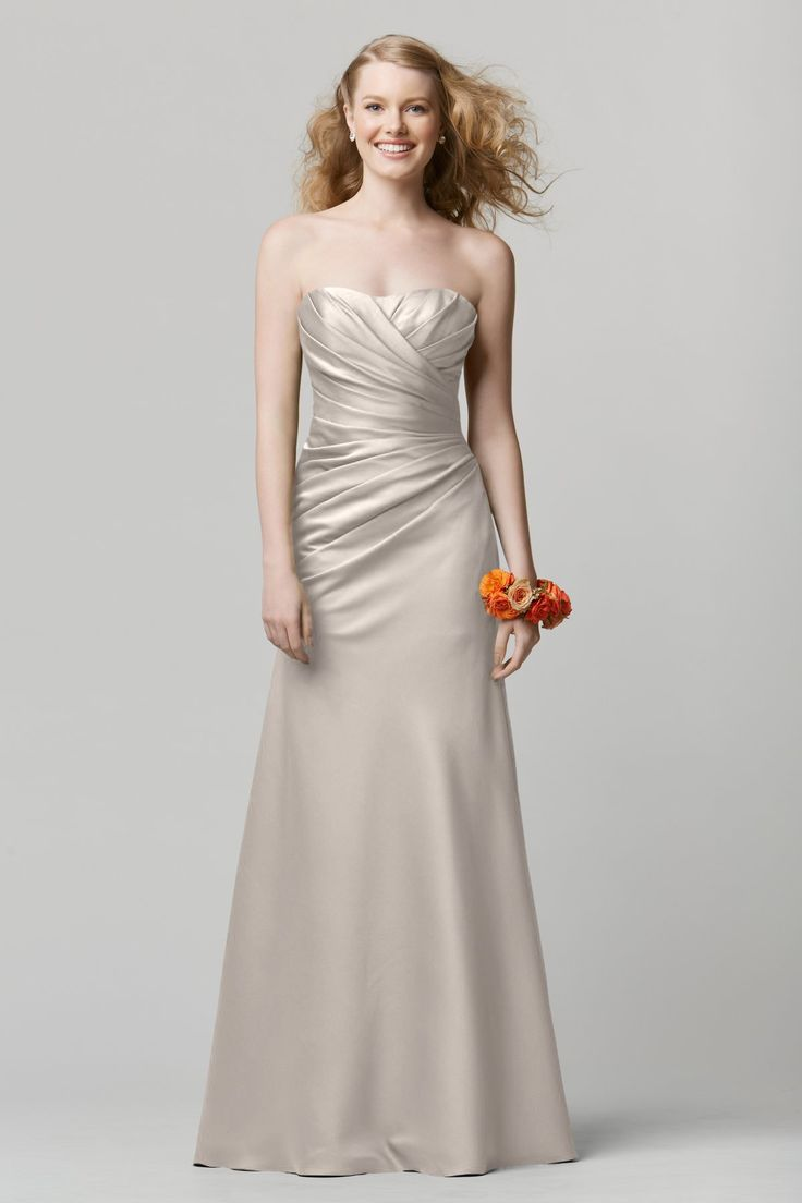 43 best bridesmaid dress images on pinterest bridesmaids davids wtoo 675 bridesmaid dress champagne ombrellifo Images