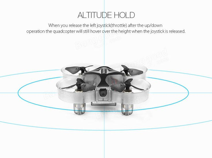 Eachine E012HW Mini WIFI FPV With Altitude Mode 2.4G 4CH 6 Axis RC Quadcopter RTF