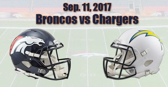 Broncos vs Chargers Tonight Game Time & Venue