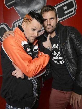 Beau Ryan with  Joe Madden l