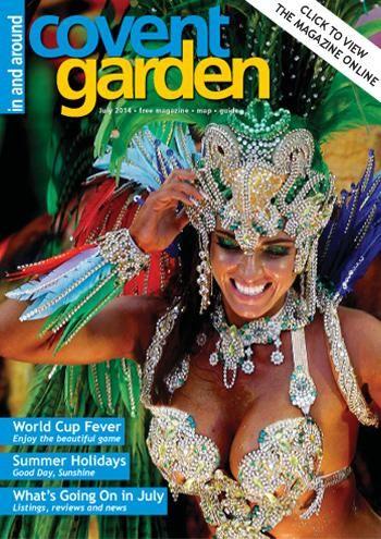 In and Around Covent Garden magazine. www.ldg.co.uk