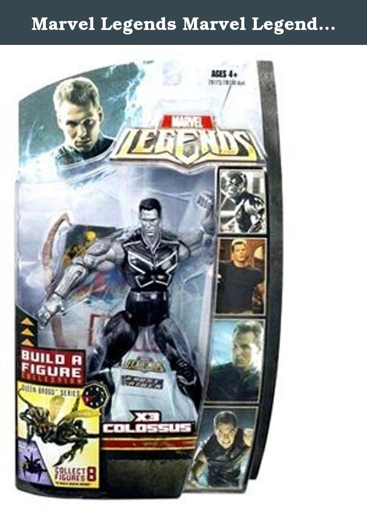 Marvel Legends Marvel Legends 6 inch [Queen Brood] Colossus [silver]. It's shipped off from Japan.