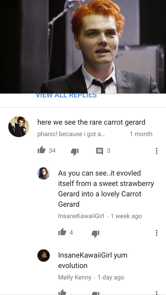 They forgot lemon gerard>>>Yellow and red make orange so overtime they came together and this carrot Gerard was born