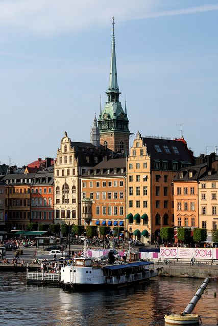 Stockholm, Sweden. I remember I had an ice cream cone here, and dropped the scoop on the ground. #traveltragedy