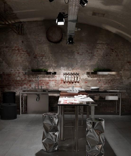 Elementare marble kitchen tools set at ENTRATALIBERA showroom - Indipendenza16 Milano  design by #studiolievito for #opinionciatti  #marble#steel#kitchen#kitchentools