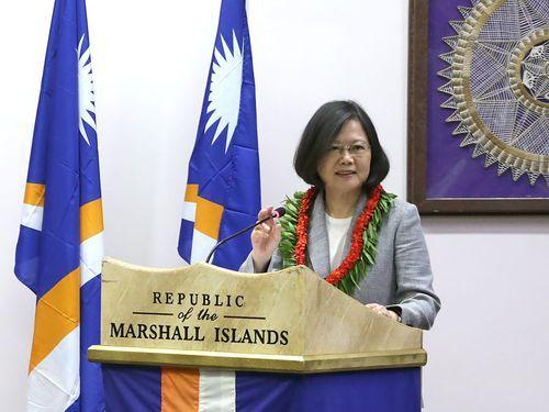 Taiwan to give visa waivers to six Pacific allies: President Tsai Ing-wen http://ift.tt/2A4vUTa