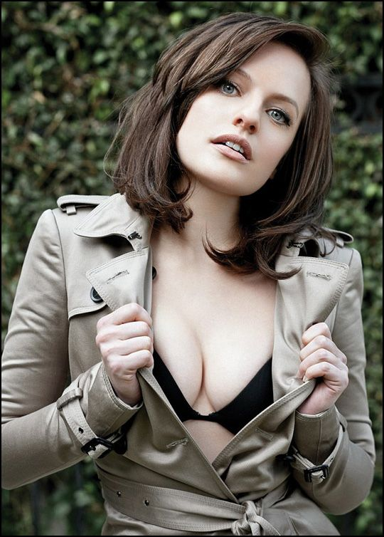 "Yes, that girl is... Elisabeth Moss, from ""Mad Men"" !"
