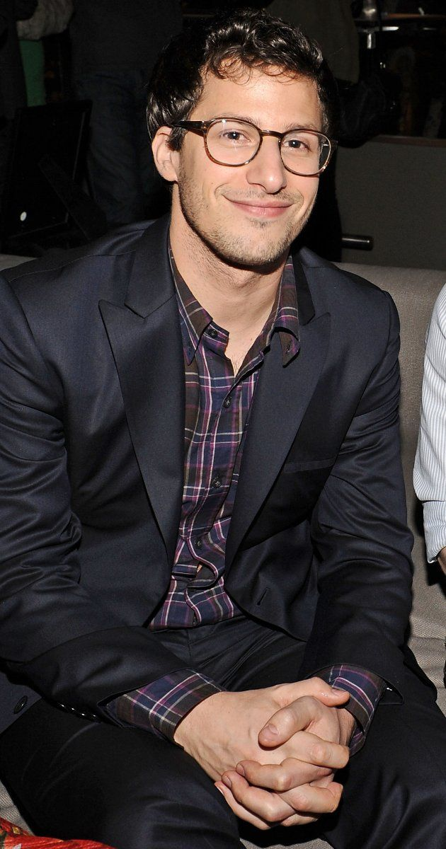 Andy Samberg... Because look at that adorable dorky face... Really... Look at it