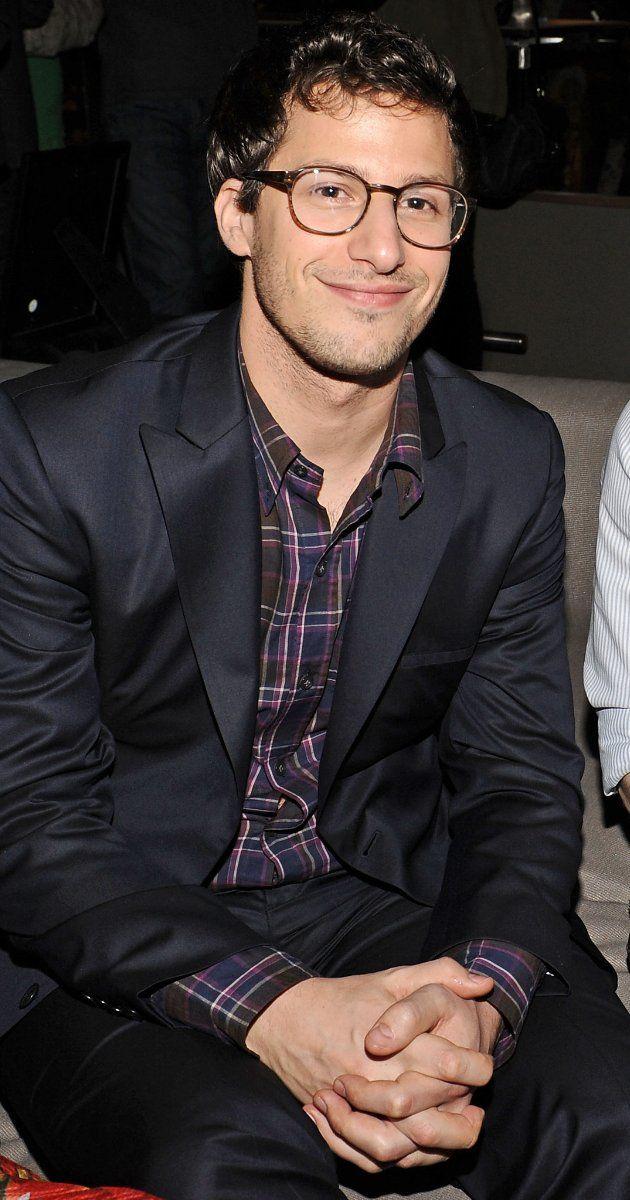 Andy Samberg... Because look at that adorable dorky face... Really... Look at it