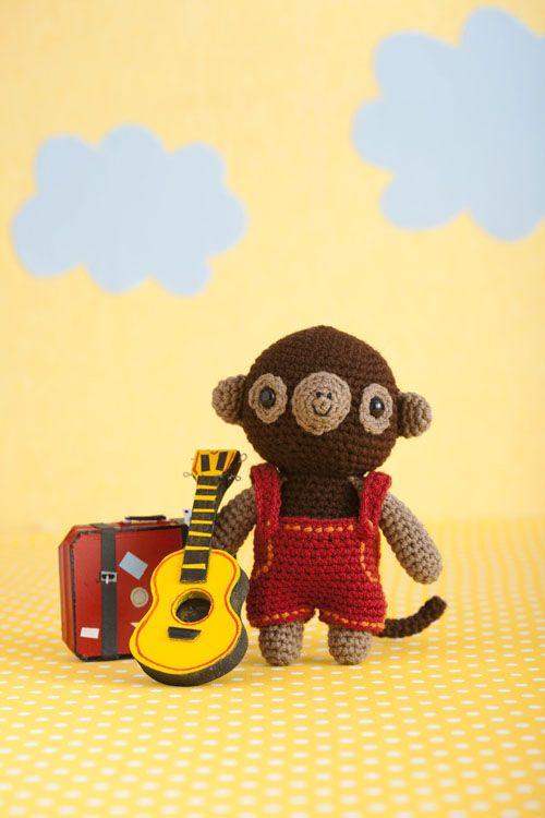 free crochet instructions for monkey