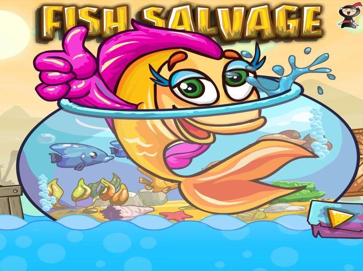Uratuj złotą rybkę i sprowadź ją do swojego akwarium. Rozwiązuj zagadki i używaj łapki, którą przesuniesz obiekty  http://www.ubieranki.eu/gry/3913/do-akwarium_.html