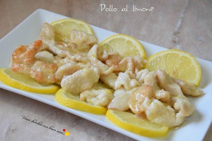 Pollo al limone - Vorrei diventare una brava cuoca....