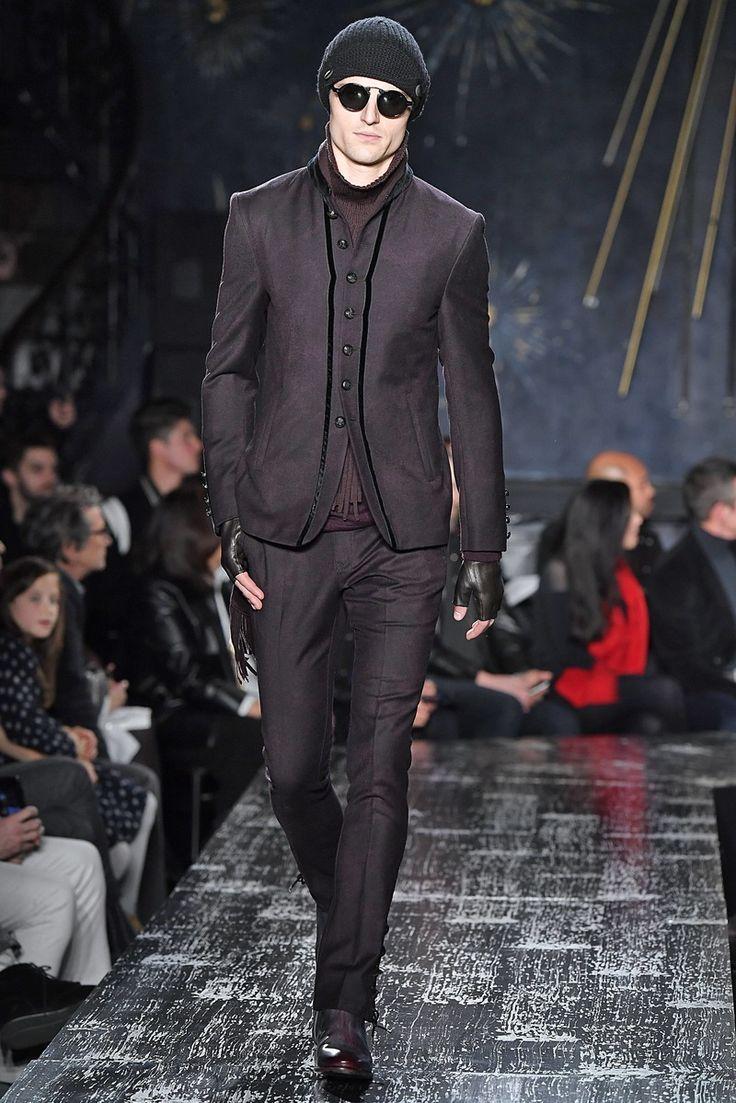 John Varvatos Menswear Collection Fall Winter 2017 New York Fashion Week