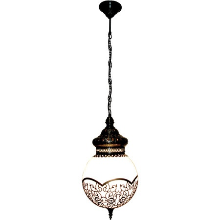 Handcrafted brass pendant.   Product: PendantConstruction Material: BrassColor: Aged brass