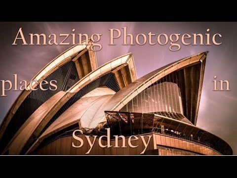 Photographic spots in Sydney Australia