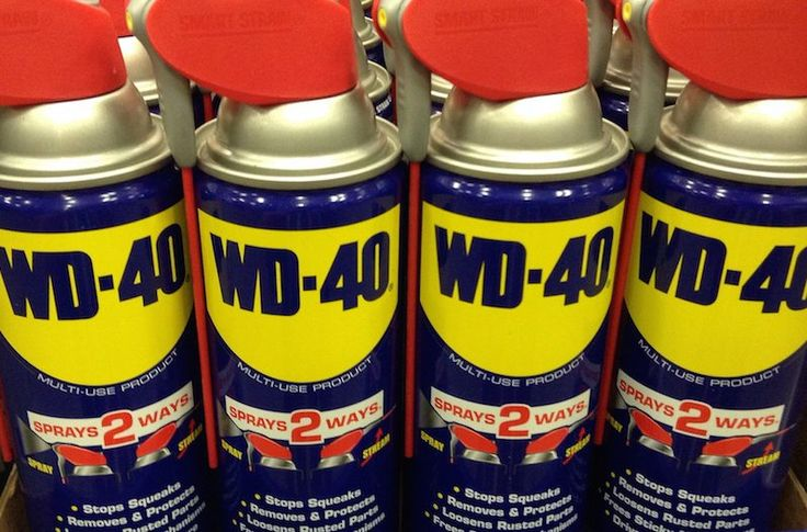 Every household has a can of it, but you could be using your WD-40 for a lot more than just squeaky doors and rusty hinges.