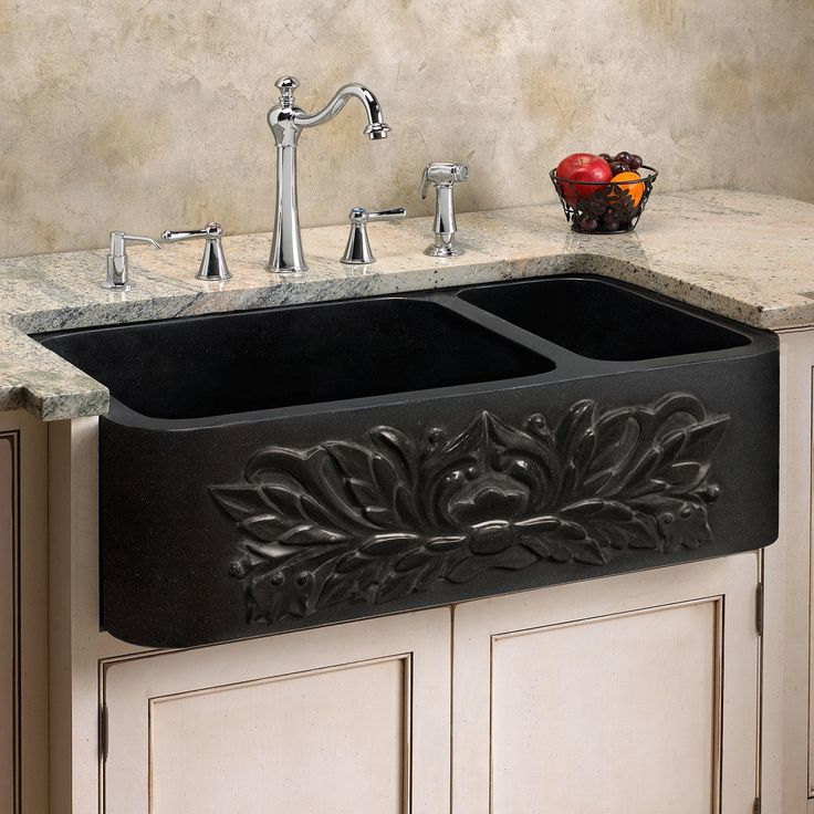 25 Farm Sink Of Kitchen Lowes Double Chrome Kitchen Sink: Best 25+ Black Kitchen Sinks Ideas On Pinterest
