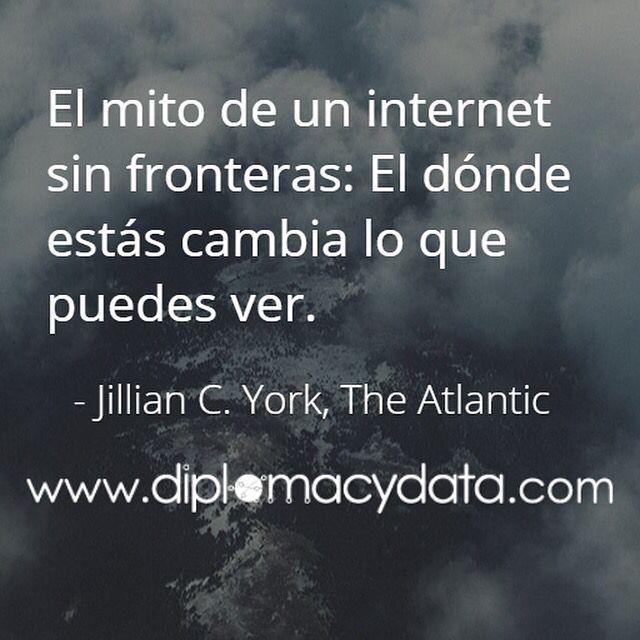La interpretación de #datos depende de nuestra percepción. Un claro ejemplo es la representación de las #fronteras en #internet. ¿Cómo dibuja las fronteras #Google? Pista: El dónde estás cambia lo que ves y la diplomacia tiene algo que ver: http://www.elconfidencial.com/tecnologia/2015-05-25/google-y-las-fronteras-de-sus-mapas-entre-la-diplomacia-la-polemica-y-el-escandalo_852397/ #diplomacia #relacionesinternacionales #diplomaciadigital #citas #frases #diplomacydata
