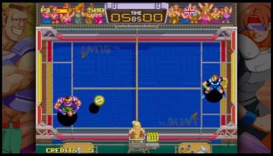 Windjammers - PS4 Review - PlayStation Country: PlayStation Country take a look at this port of the classic Neo Geo throw 'em up.