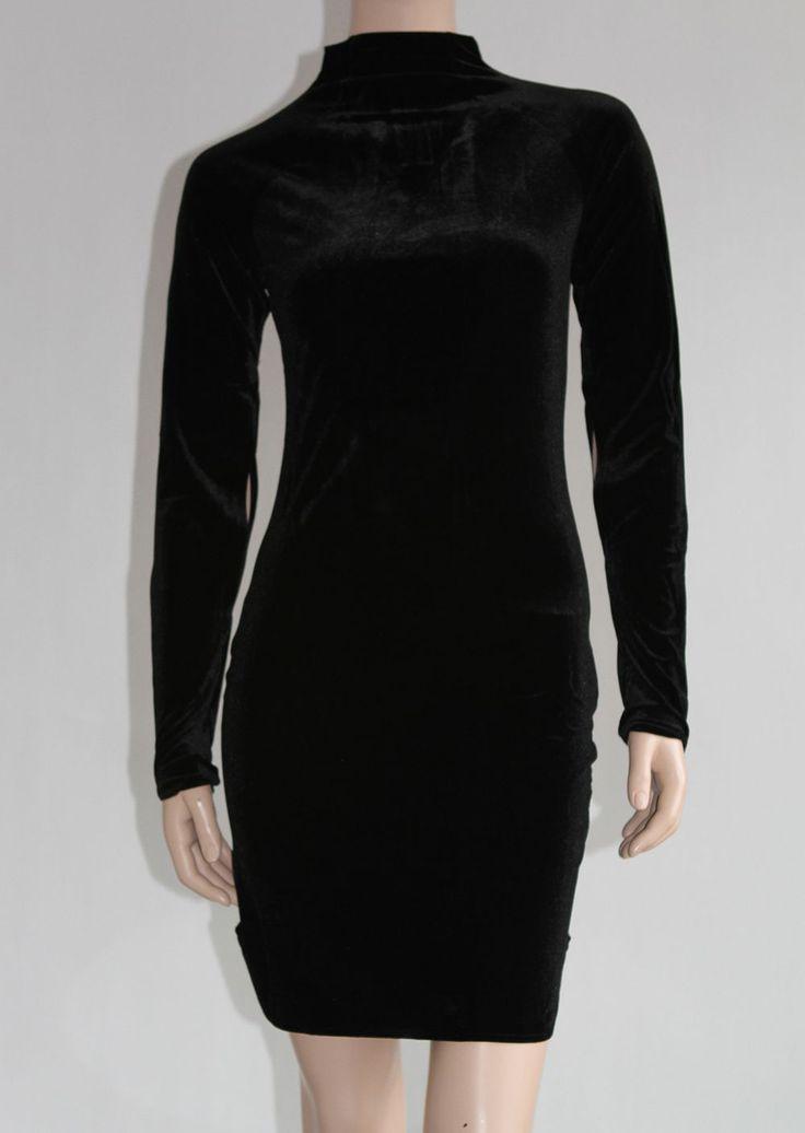 Designers of Scandinavia - Cheap Monday Velvet Dress Black