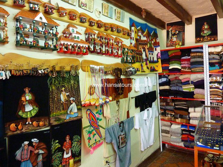 Handcrafts in Guatavita.. just beautiful..