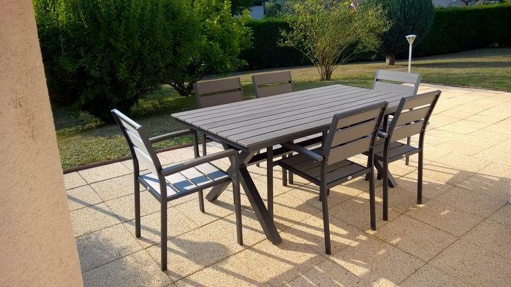 Awesome Table De Jardin Aluminium Et Polywood Photos - Awesome ...