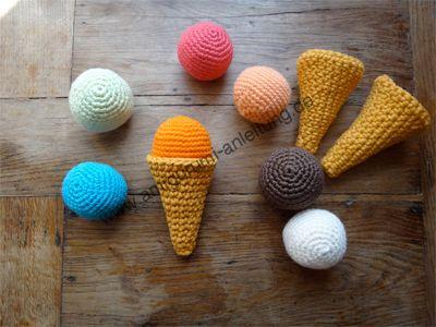 Das ist unser neues Lieblingsspiel: Amigurumi-Eis mit austauschbaren Eiskugeln