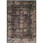 Vintage Soft Anthracite 6 ft. 7 in. x 9 ft. 2 in. Area Rug