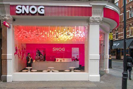 Soho Snog light installation by Cinimod Studio