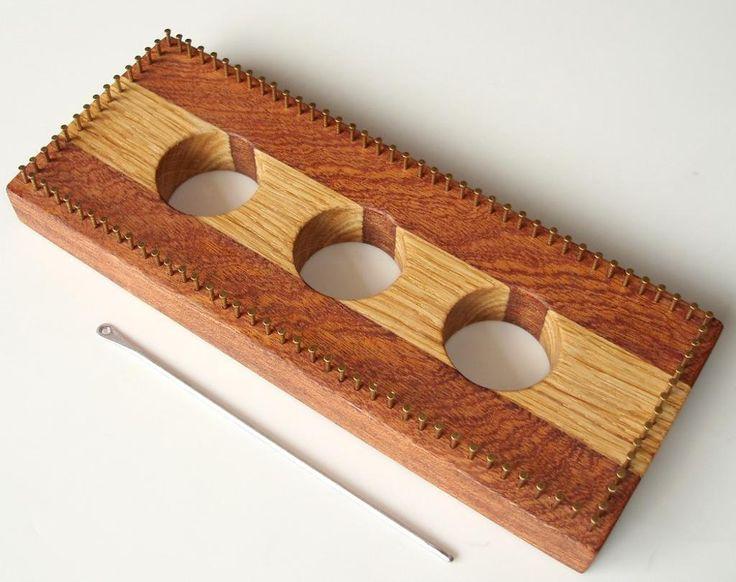 Oblong loom: Loom Weaving, Loom Knits, Loom English, English Oak, Small Loom, Oblong Loom, Beads O' O' O' Loom, Sa Projects, Pin Loom
