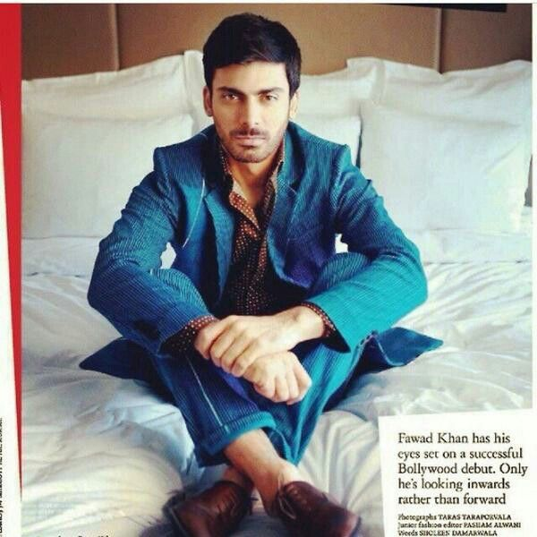 What a stunner!!!♡♡♡♡#fawadfever