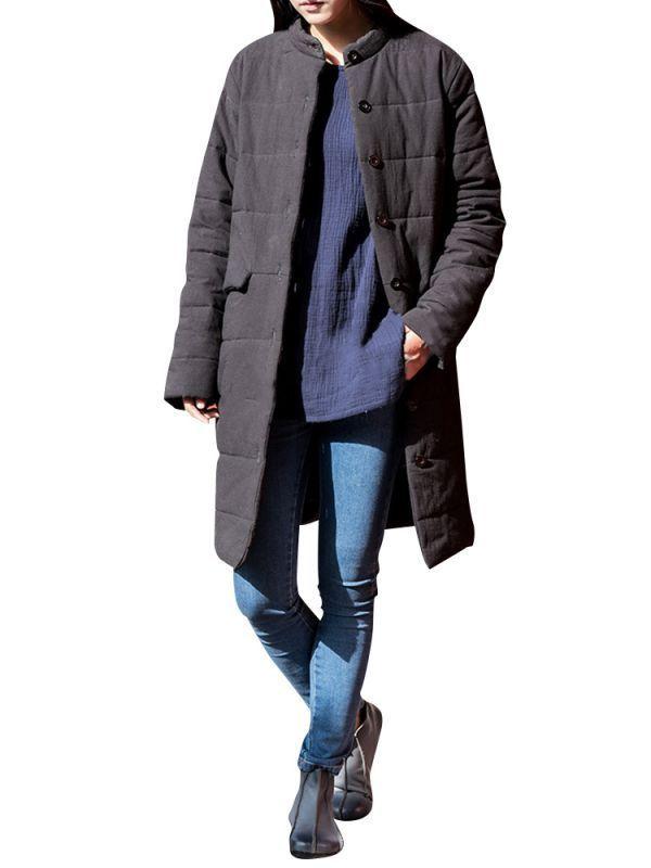 Women pure color long sleeve stand collar retro thicken coats coats j d williams #coats #disease #icd #10 #coats #invisible #zipper #filippa #k #coats #r #c #boats
